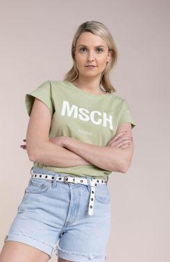 Moss Copenhagen Dames Alva shirt Groen