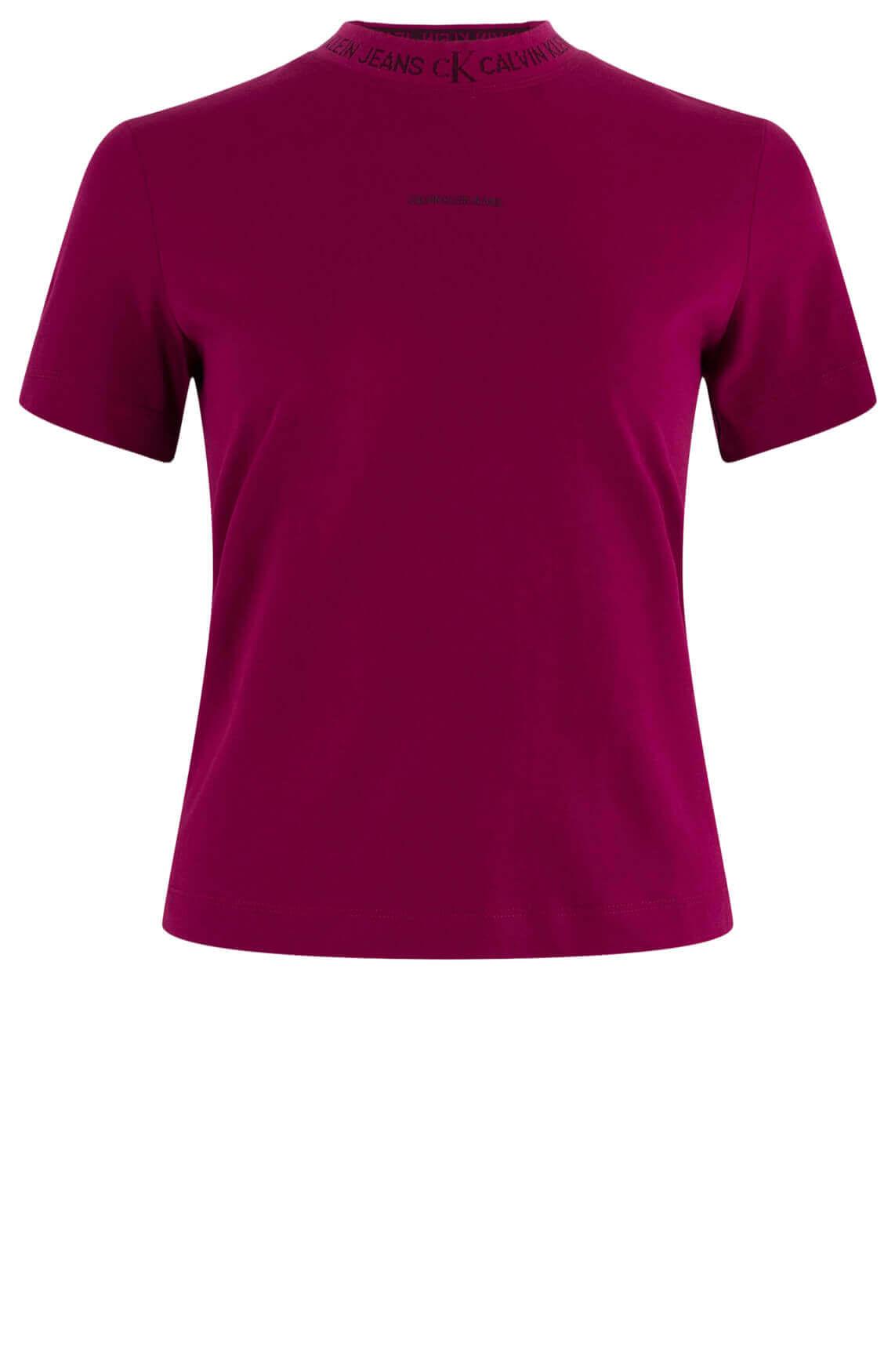 Calvin Klein Dames Shirt Rood