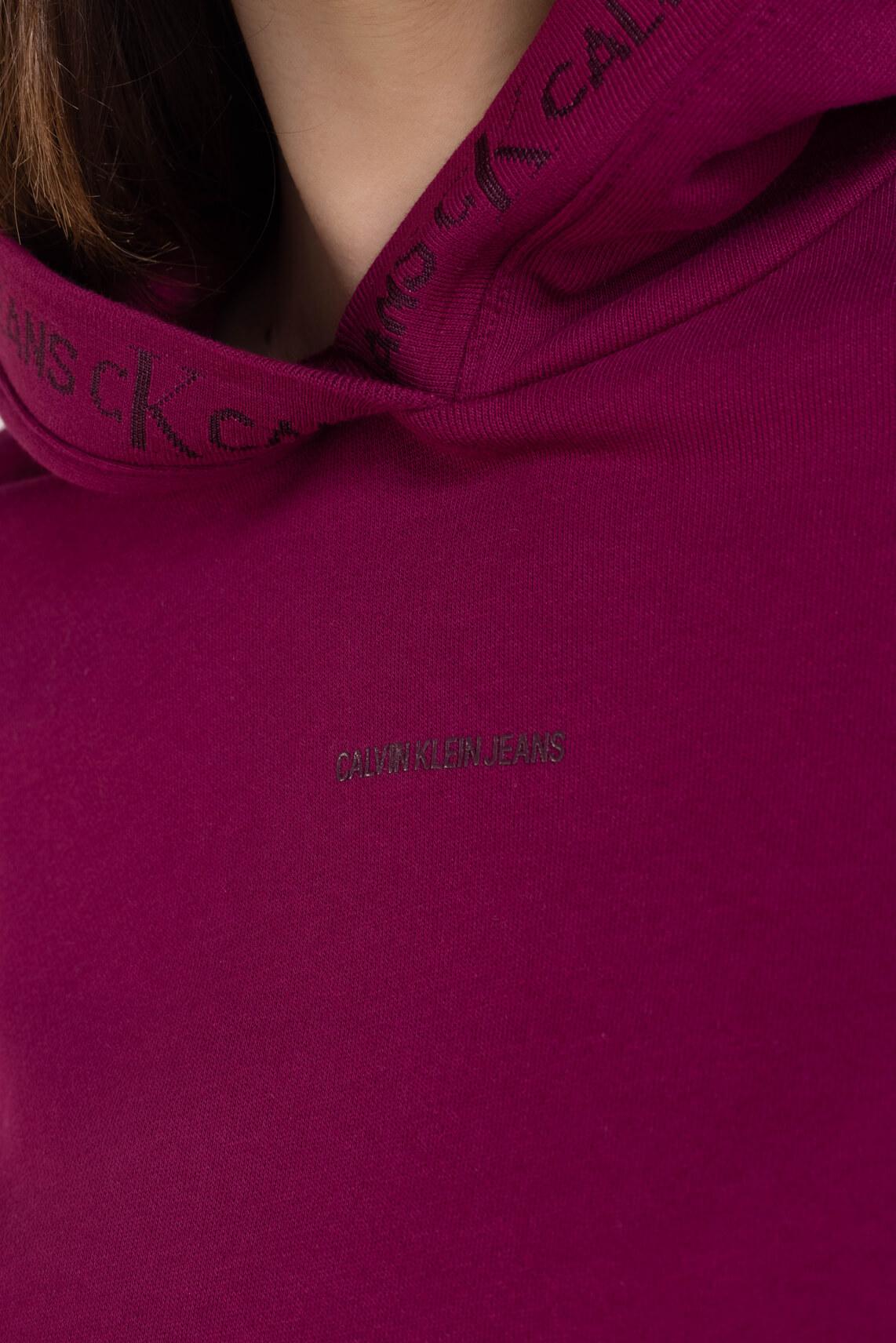 Calvin Klein Dames Hoodie Rood