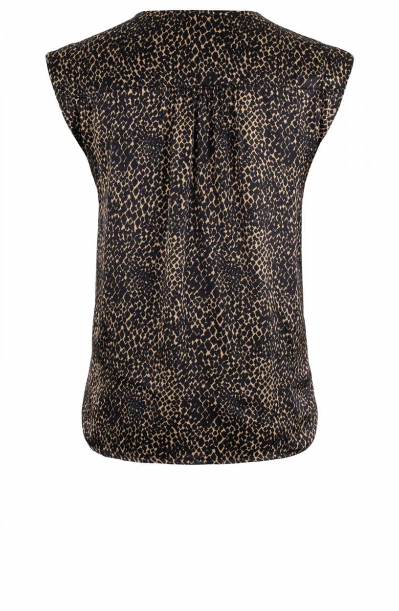 La Fee Maraboutee Dames Lovina blouse Zwart
