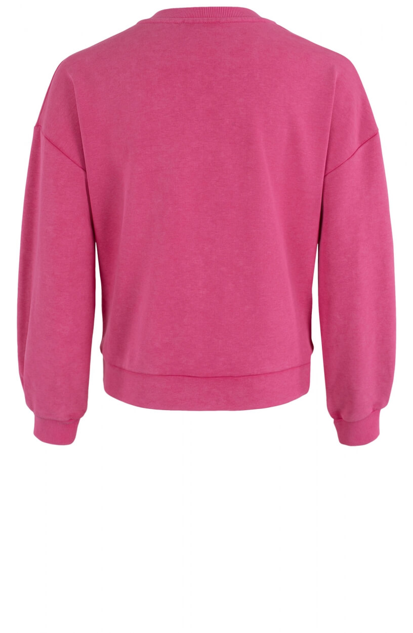 Anna Dames Bleached sweater Roze