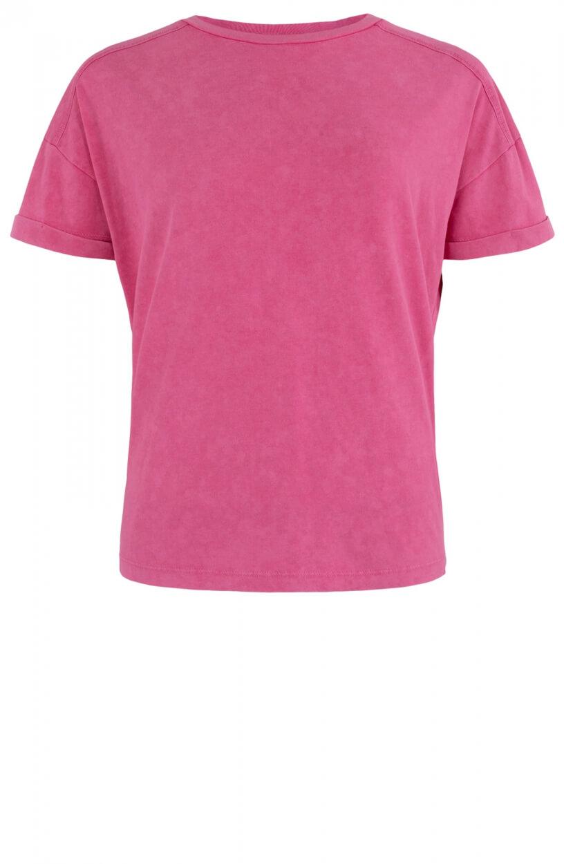 Anna Dames Bleached shirt Roze