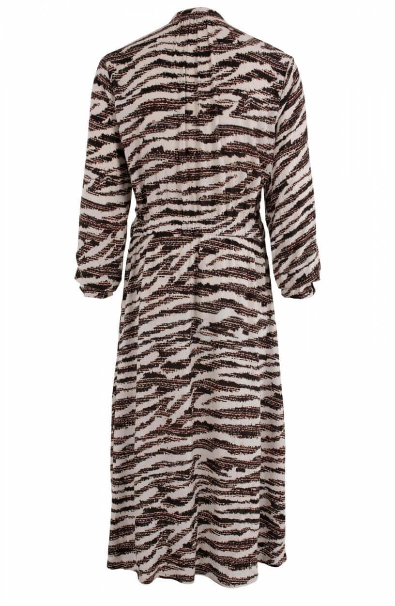 Anna Dames Dessin jurk Wit