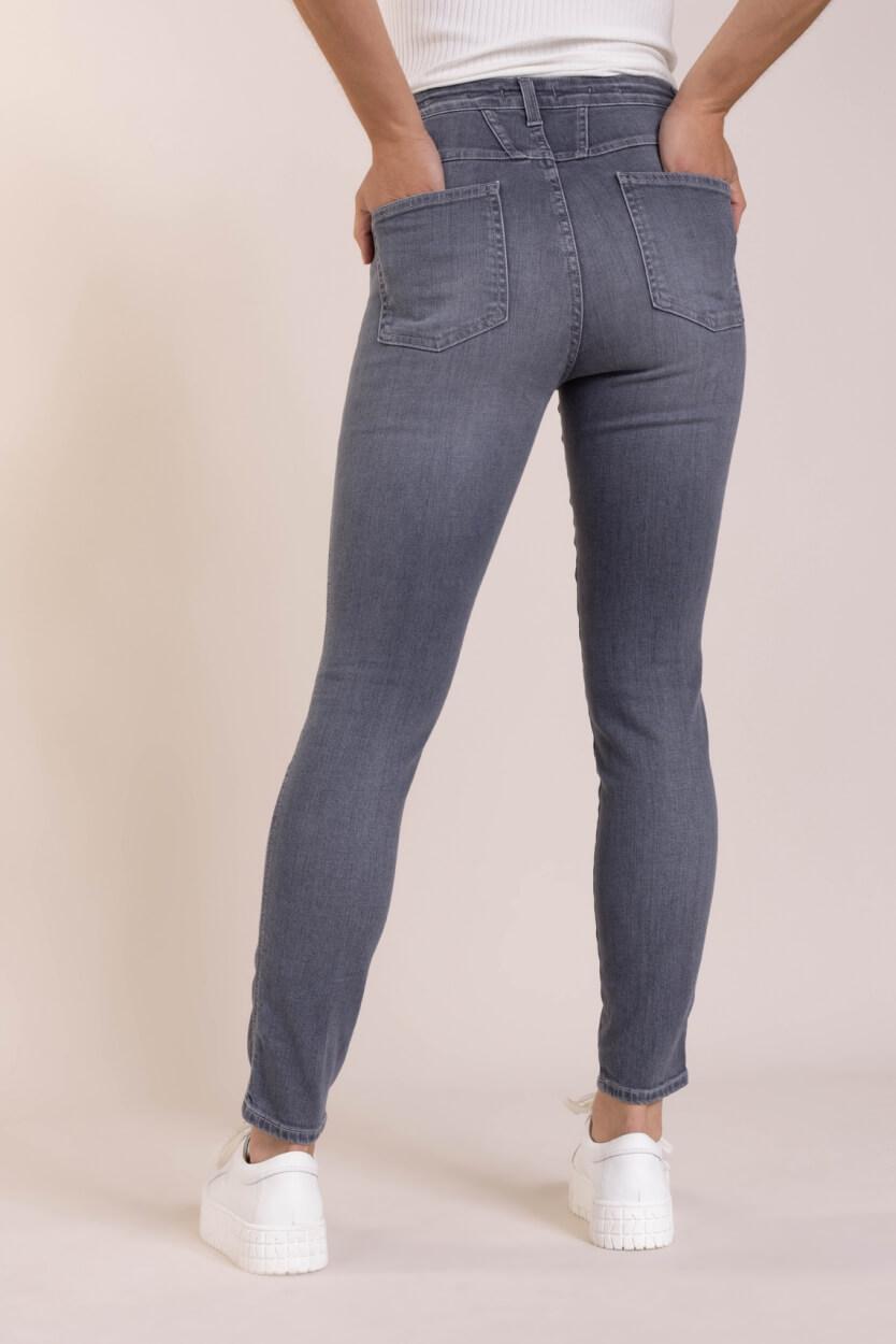 Closed Dames Skinny pusher jeans Grijs