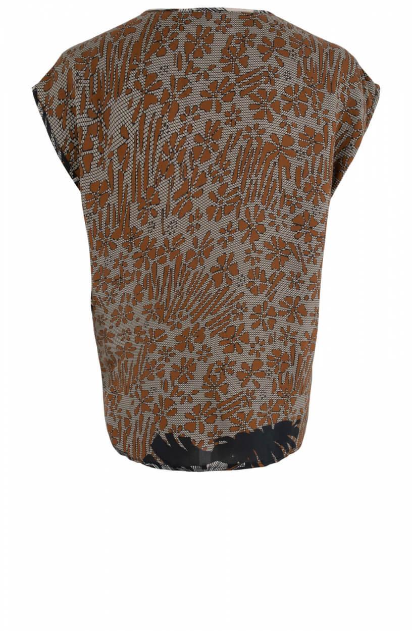 La Fee Maraboutee Dames Lalita blouse Bruin