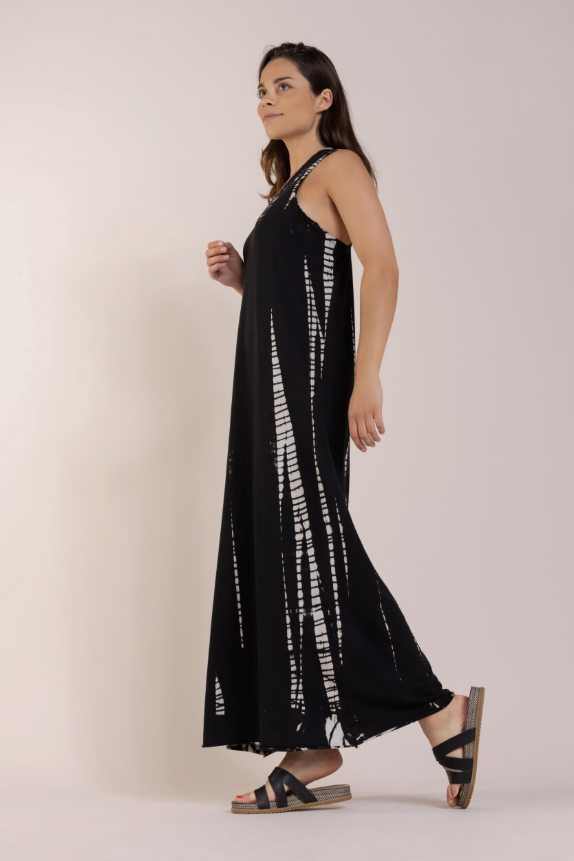 10 Days Dames Bamboo dye jurk Zwart