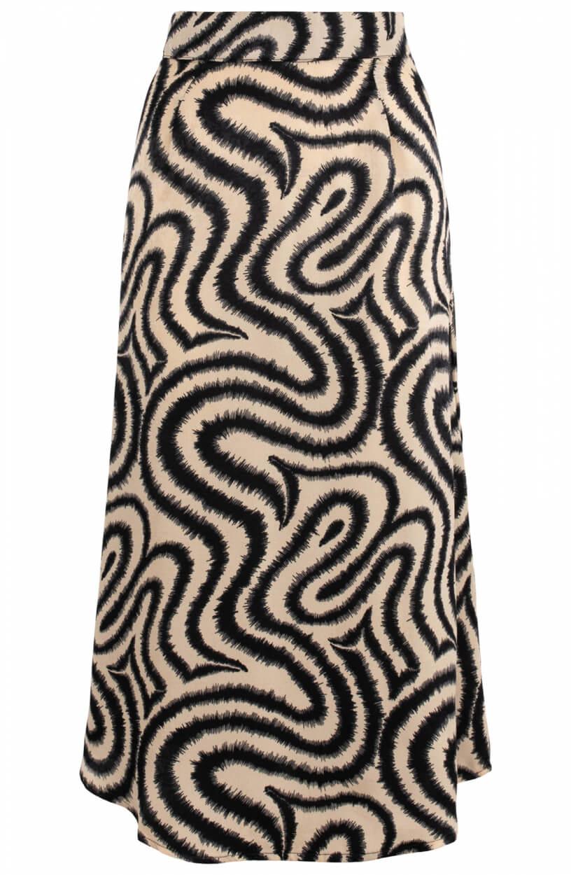 Object Dames Papaya rok Zwart