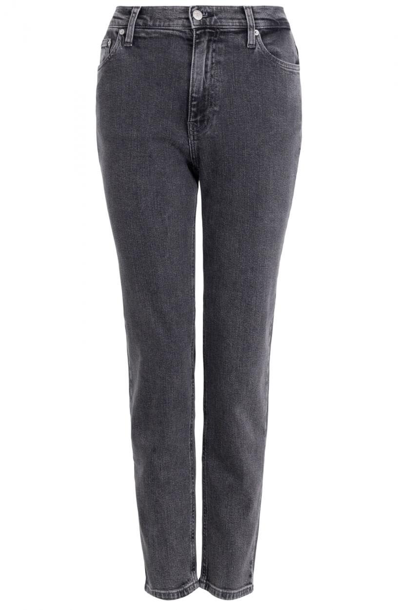 Calvin Klein Dames CK mom jeans Grijs