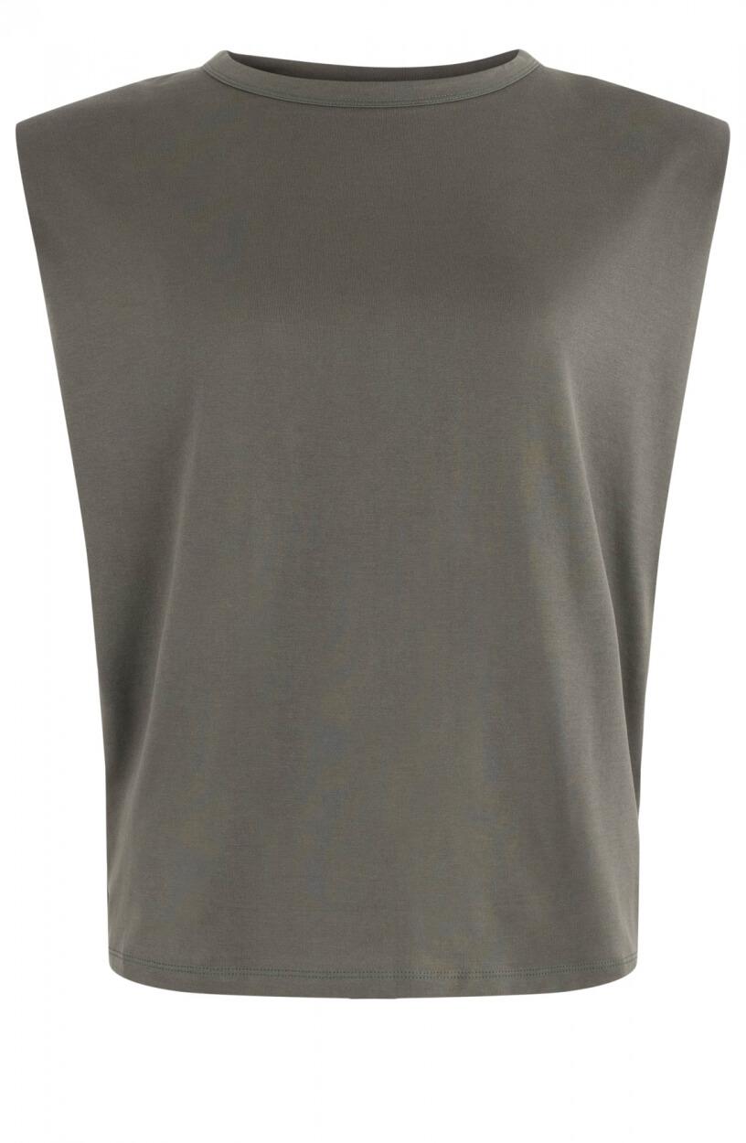 Drykorn Dames Boxy shirt Groen