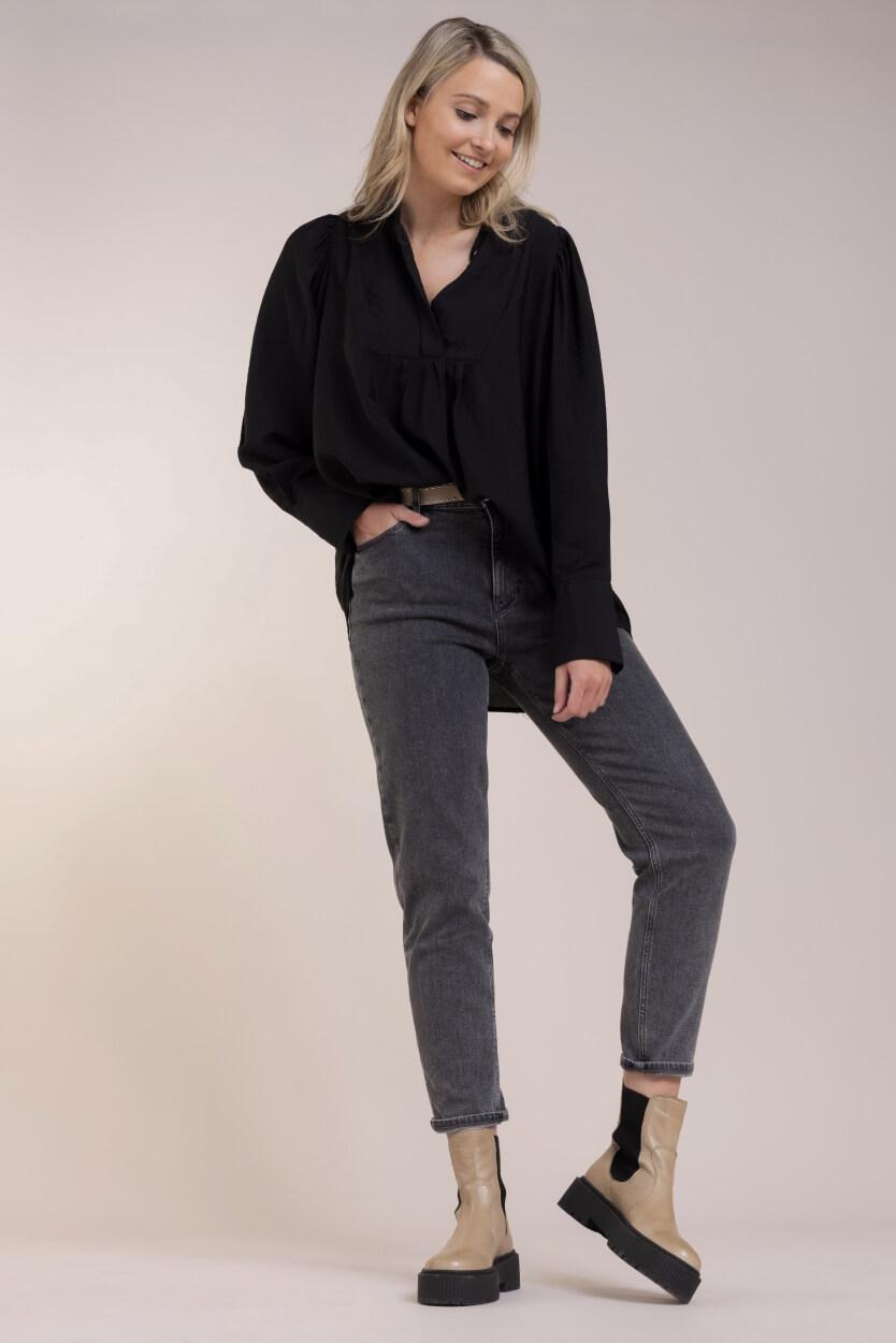 Co Couture Dames Callum blouse Zwart