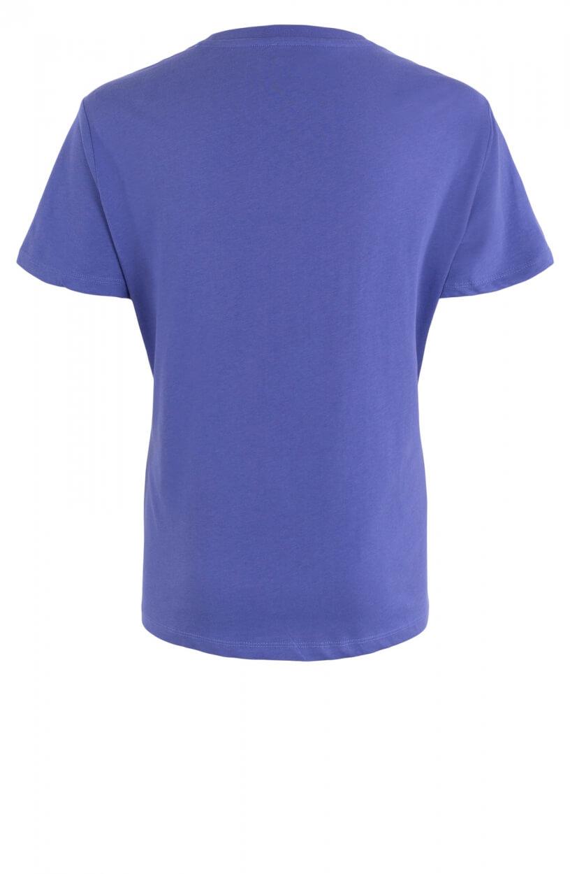 Alix The Label Dames Shirt met print Paars