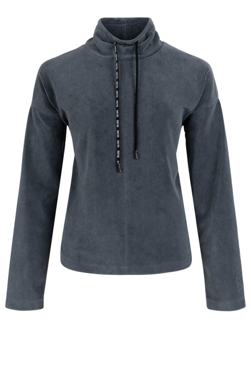 Anna Blue Dames Corduroy sweater Groen