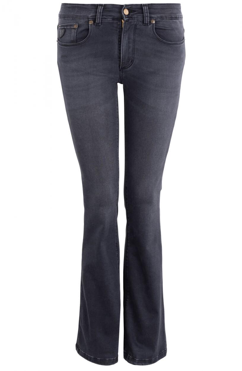 Lois Dames L34 Melrose flared jeans Grijs