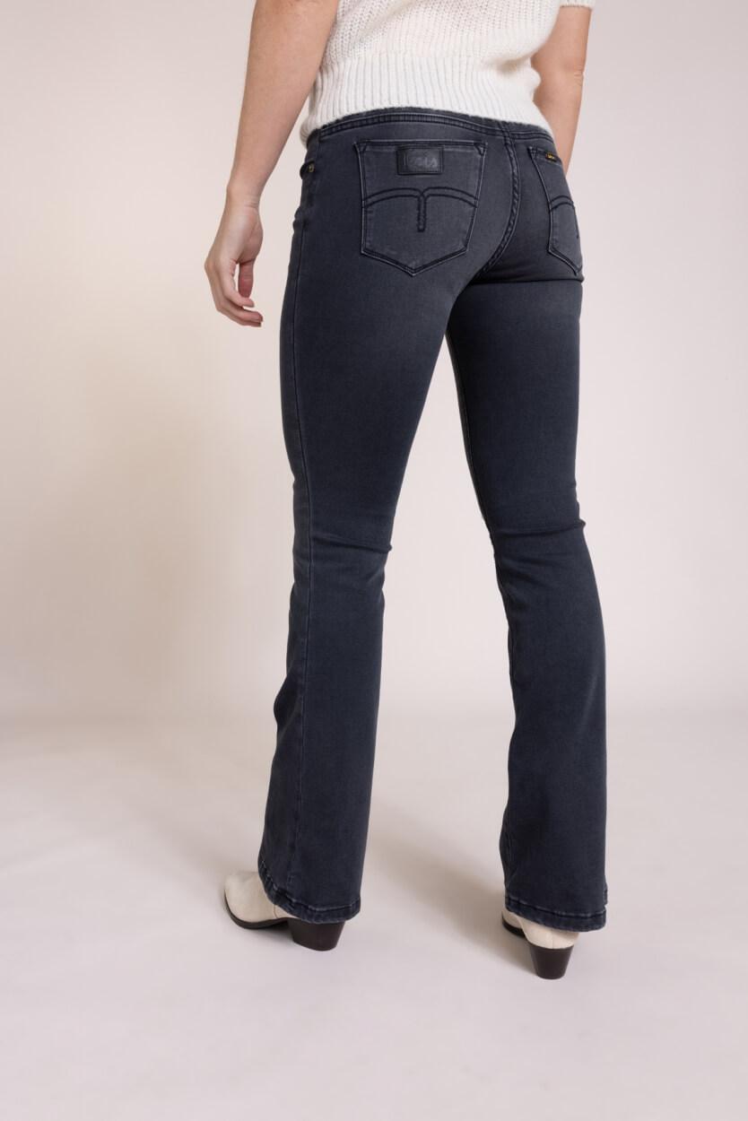 Lois Dames L32 Melrose flared jeans Grijs