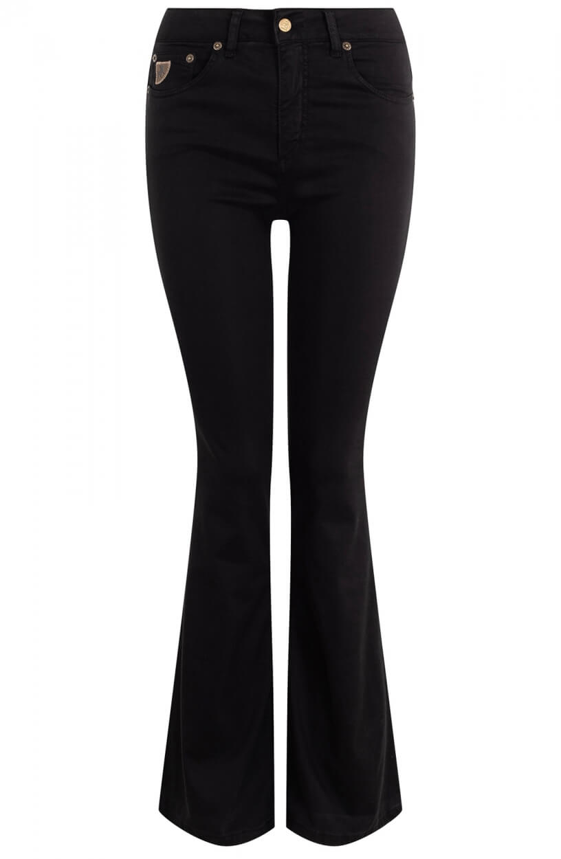 Lois Dames L32 Raval jeans Zwart
