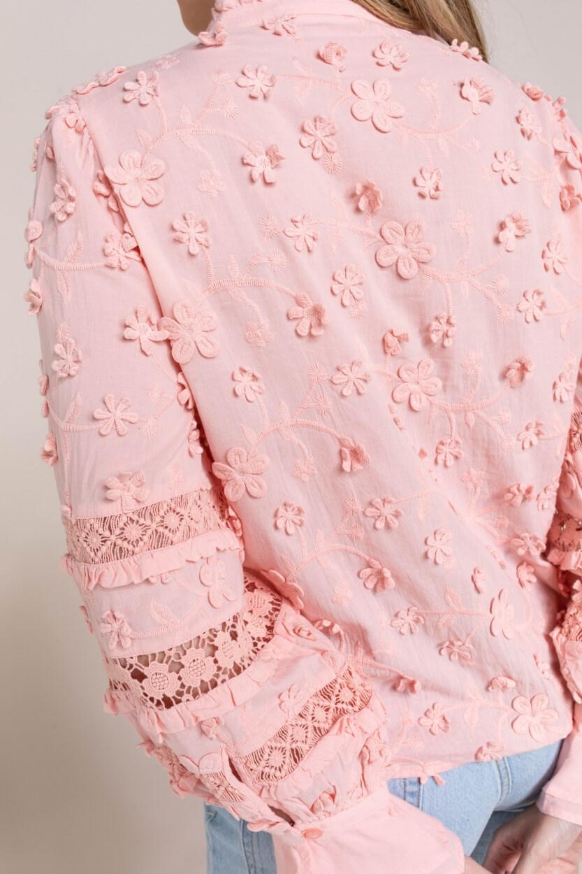Fabienne Chapot Dames Leo blouse Roze