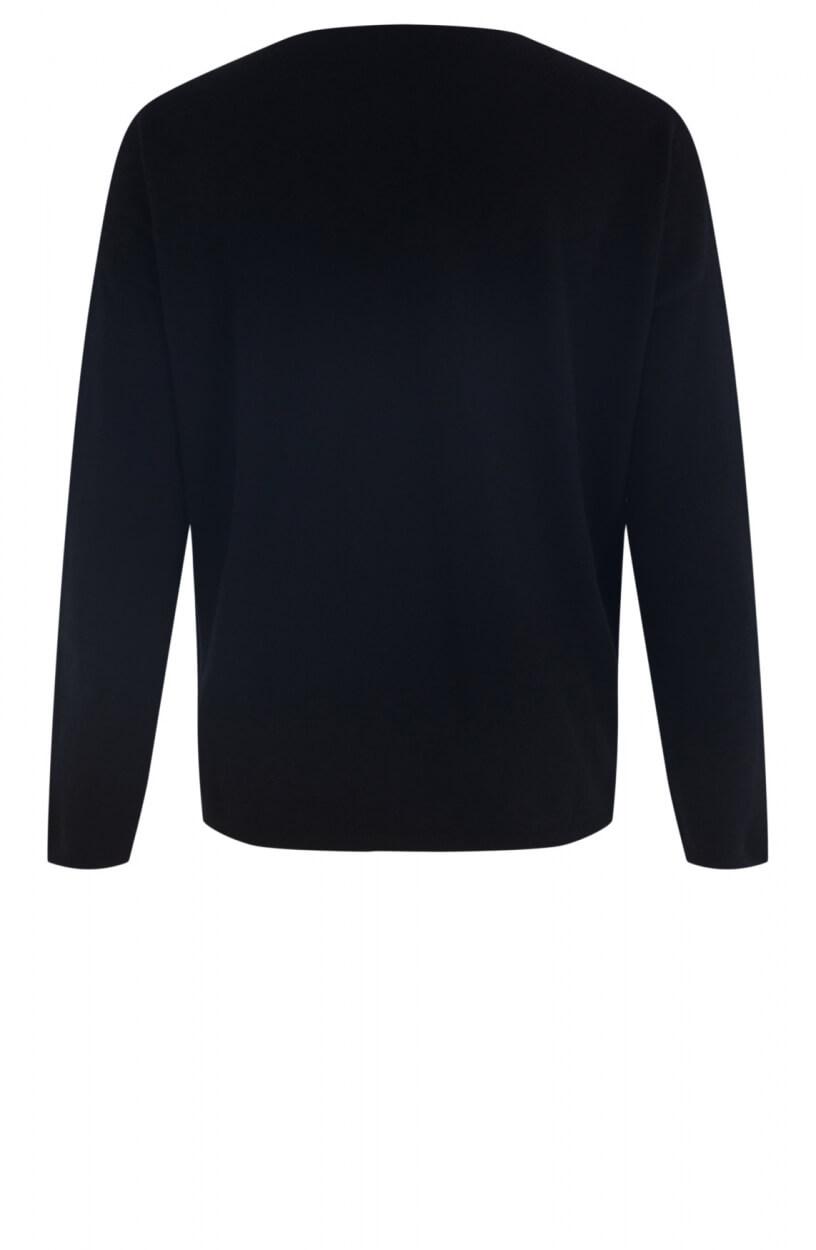 Anna Dames Fijngebreide trui Zwart