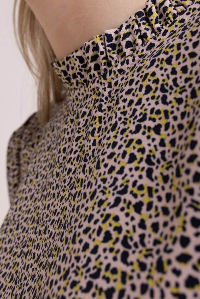 Nümph Dames Nucecelia blouse Bruin