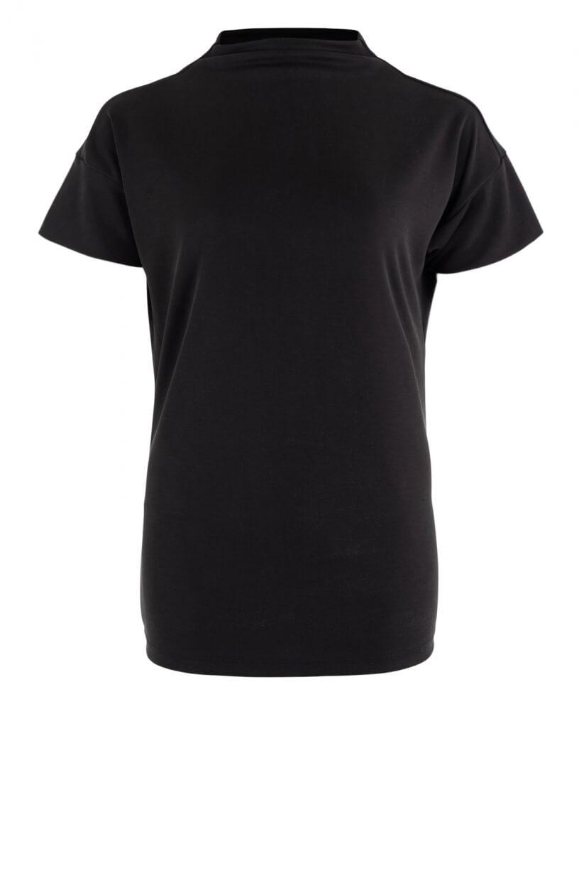 Anna Dames Shirt met turtleneck Zwart