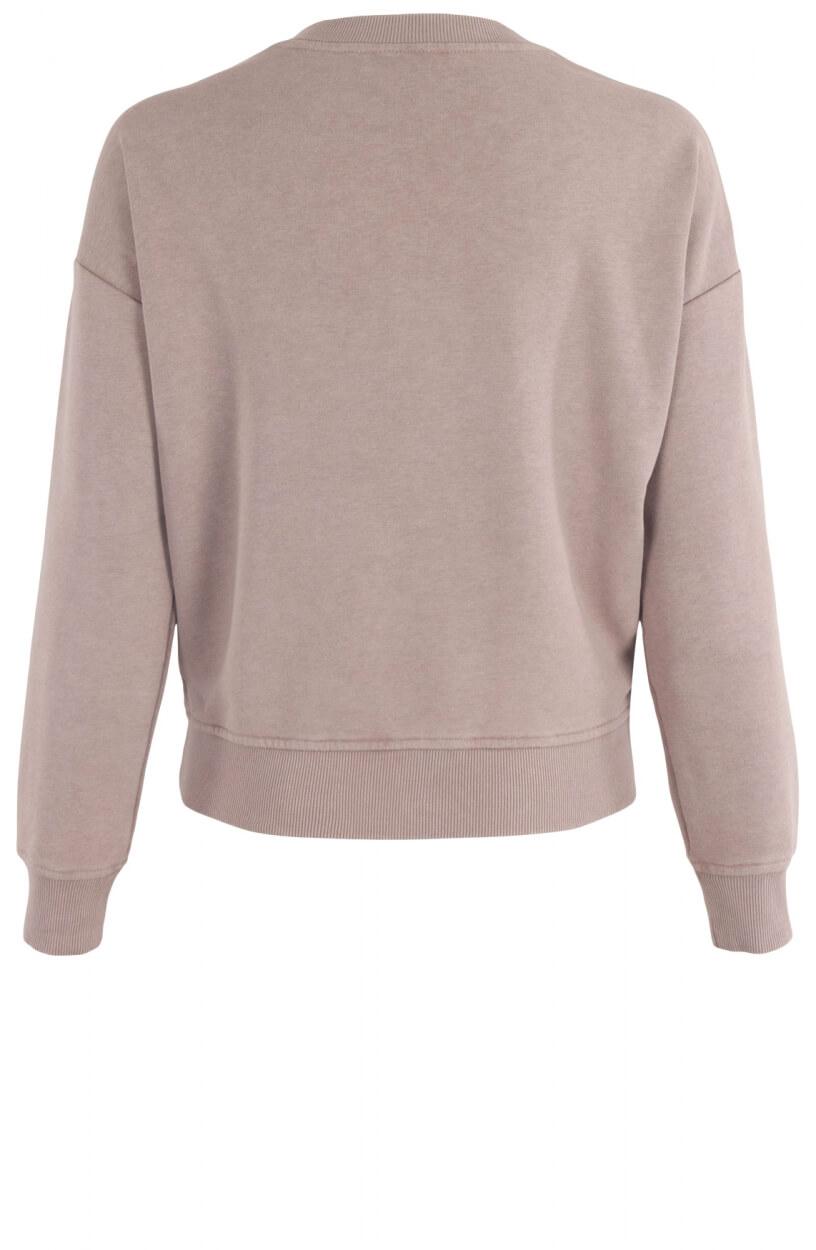 Anna Dames Sweater met artwork Paars