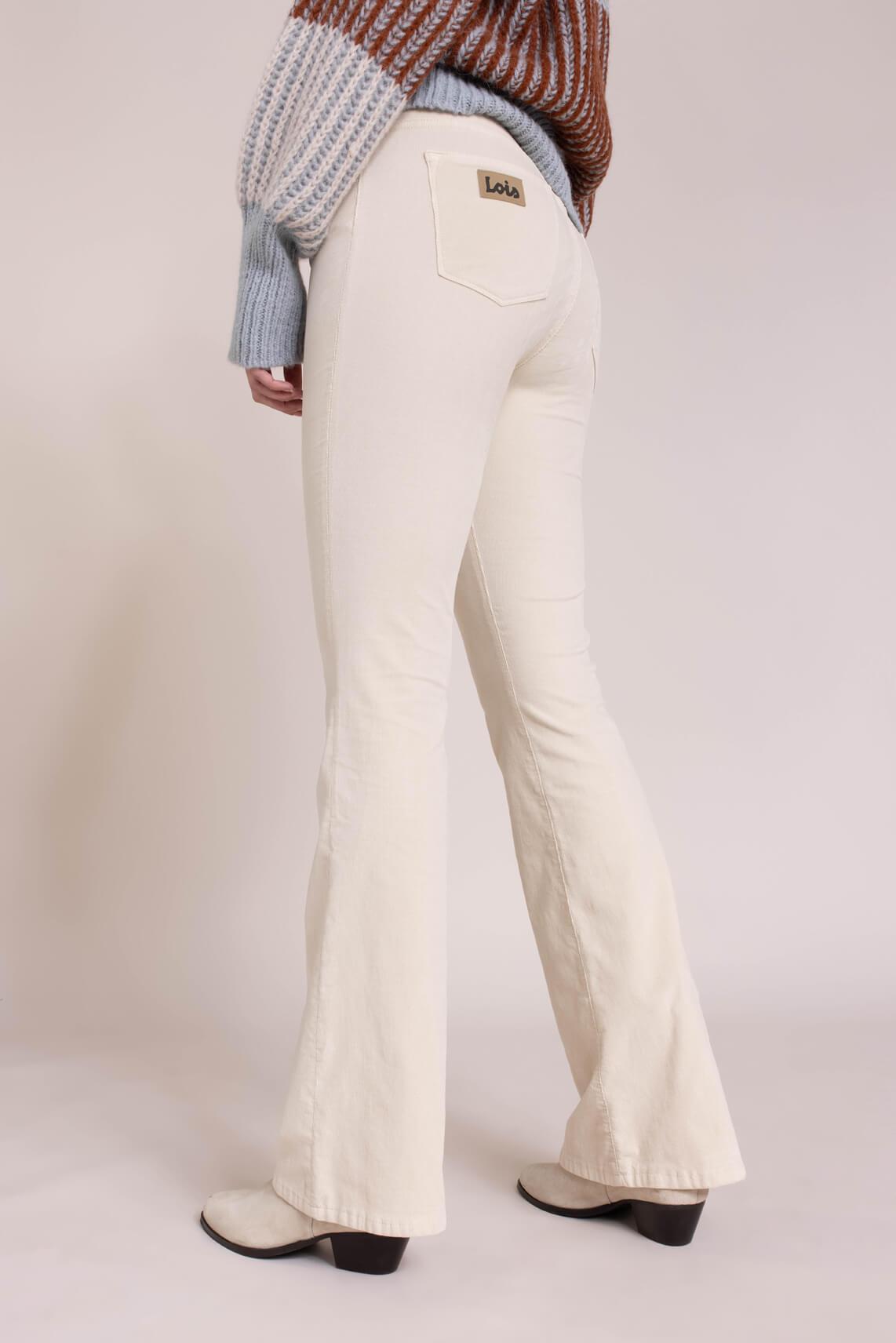 Lois Dames L34 Raval jeans Wit