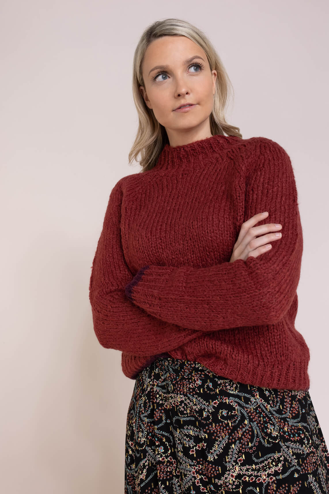 La Fee Maraboutee Dames Fedia pullover Roze