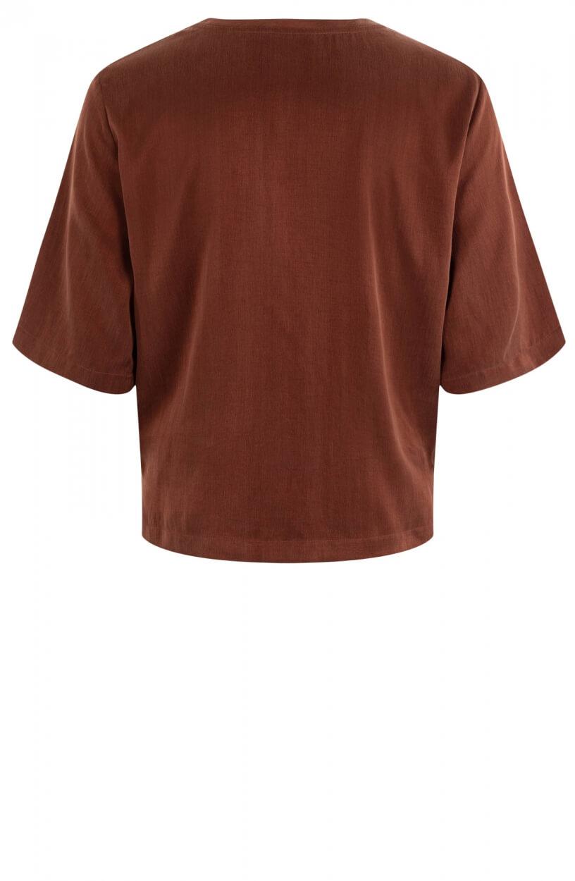 Drykorn Dames Diedra blouse Bruin