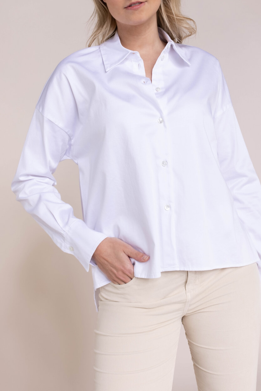 Drykorn Dames Cloelia blouse Wit