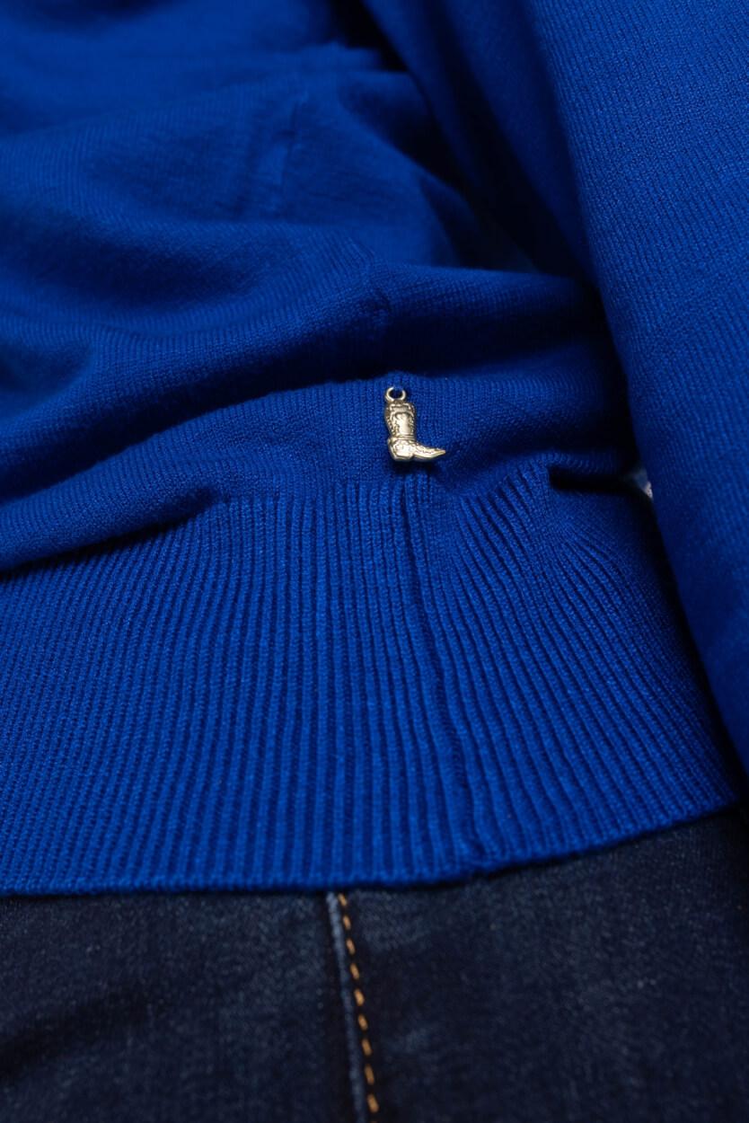 Fabienne Chapot Dames Molly bow trui Blauw