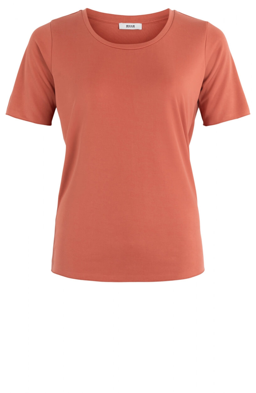Anna Dames Shirt Rood