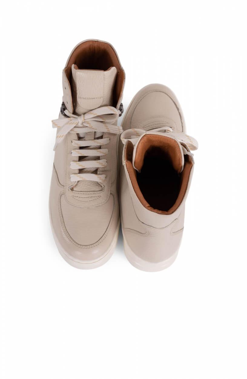 Noi Due Dames Hoge sneaker Wit