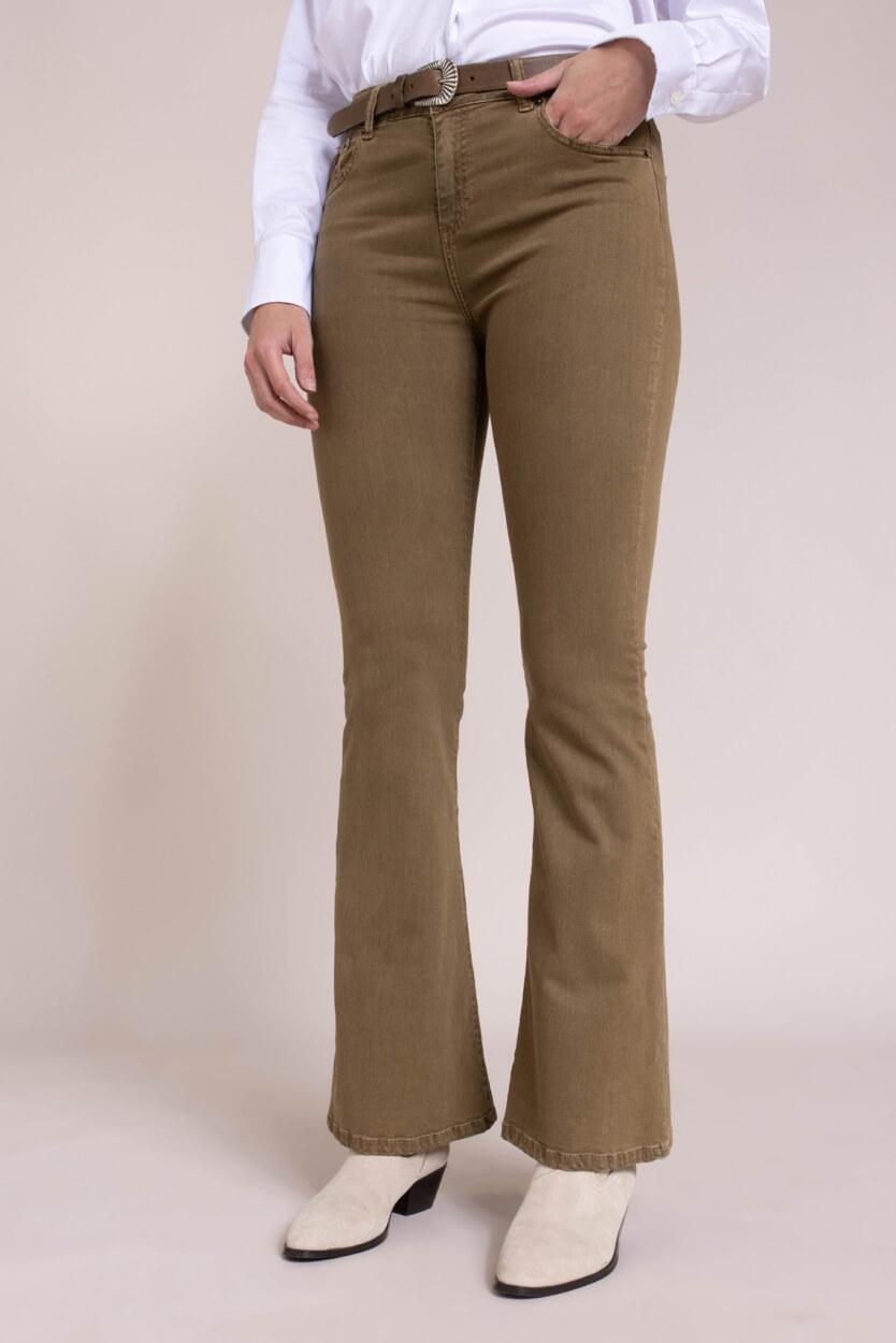 Lois Dames L34 Raval jeans Groen