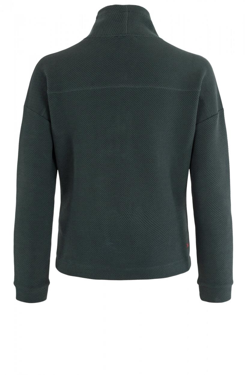 Anna Blue Dames Sweater met structuur Groen