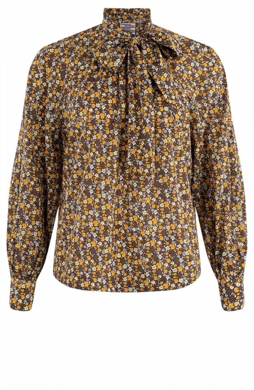 Baum und Pferdgarten Dames Maya blouse Geel
