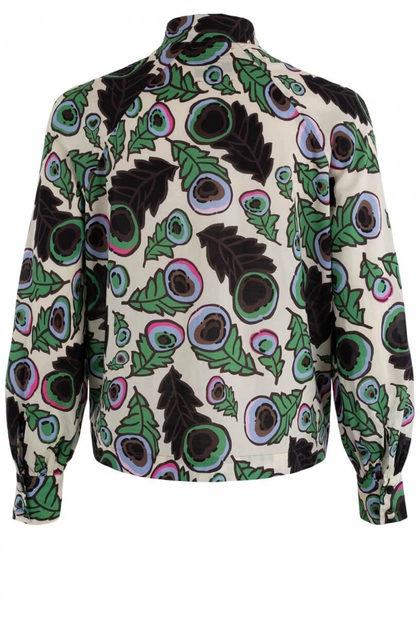 Baum und Pferdgarten Dames Maya blouse Groen