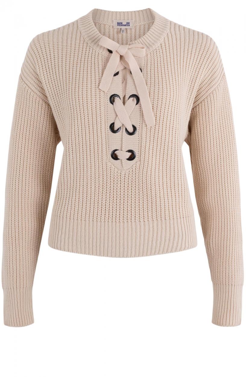 Baum und Pferdgarten Dames Carra sweater Bruin