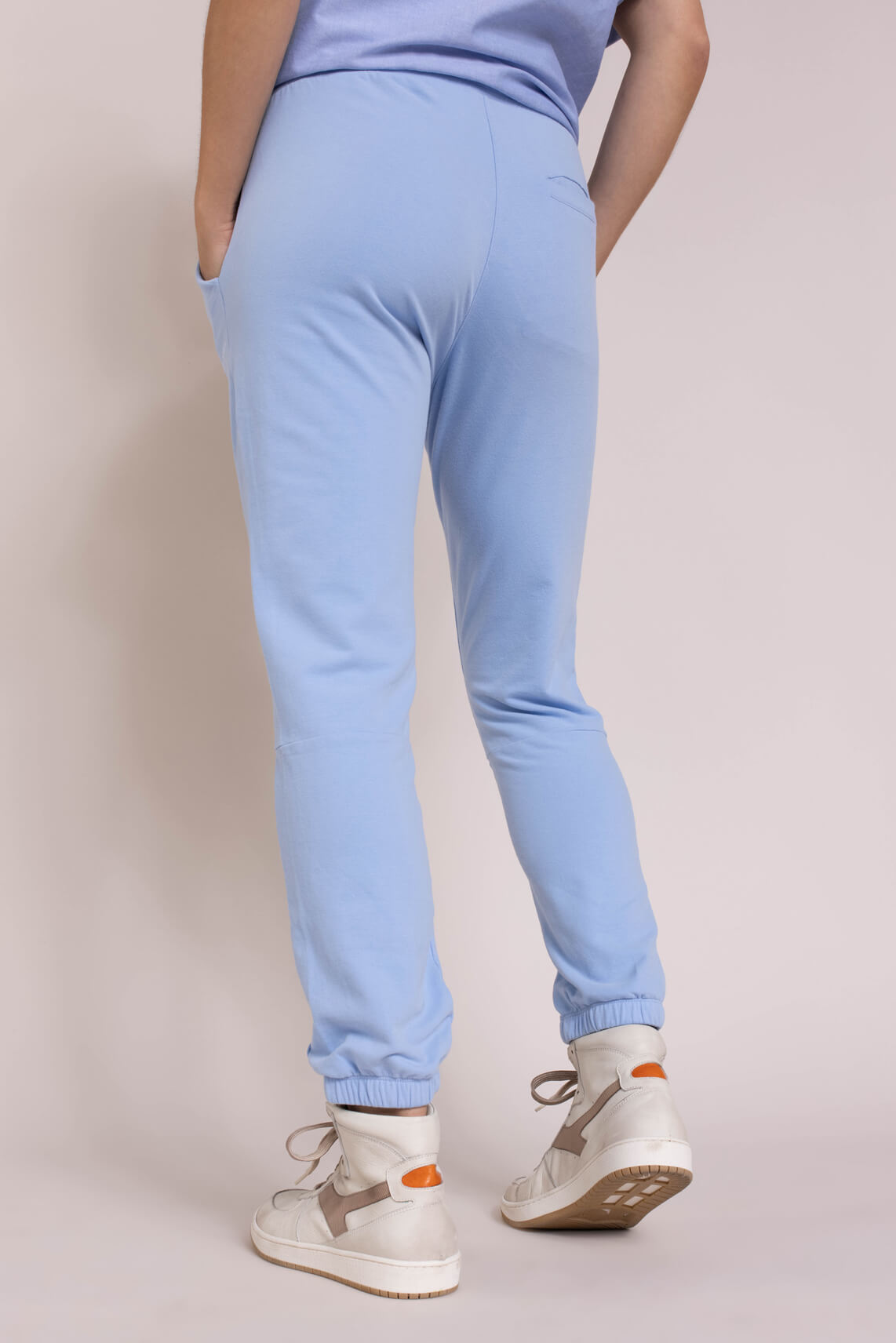 10 Days Dames Cropped jogger Blauw