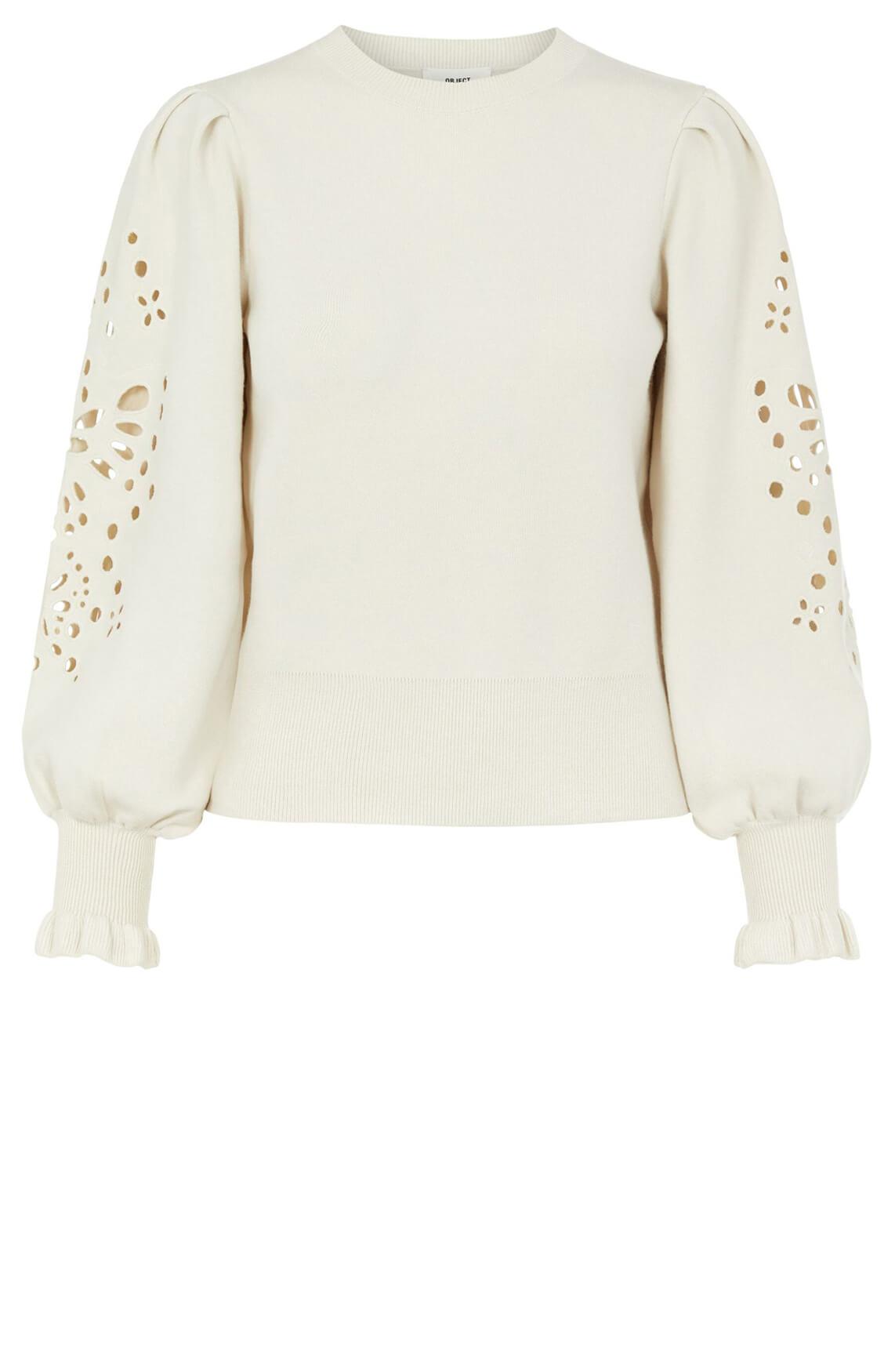 Object Dames Reynard sweater Grijs