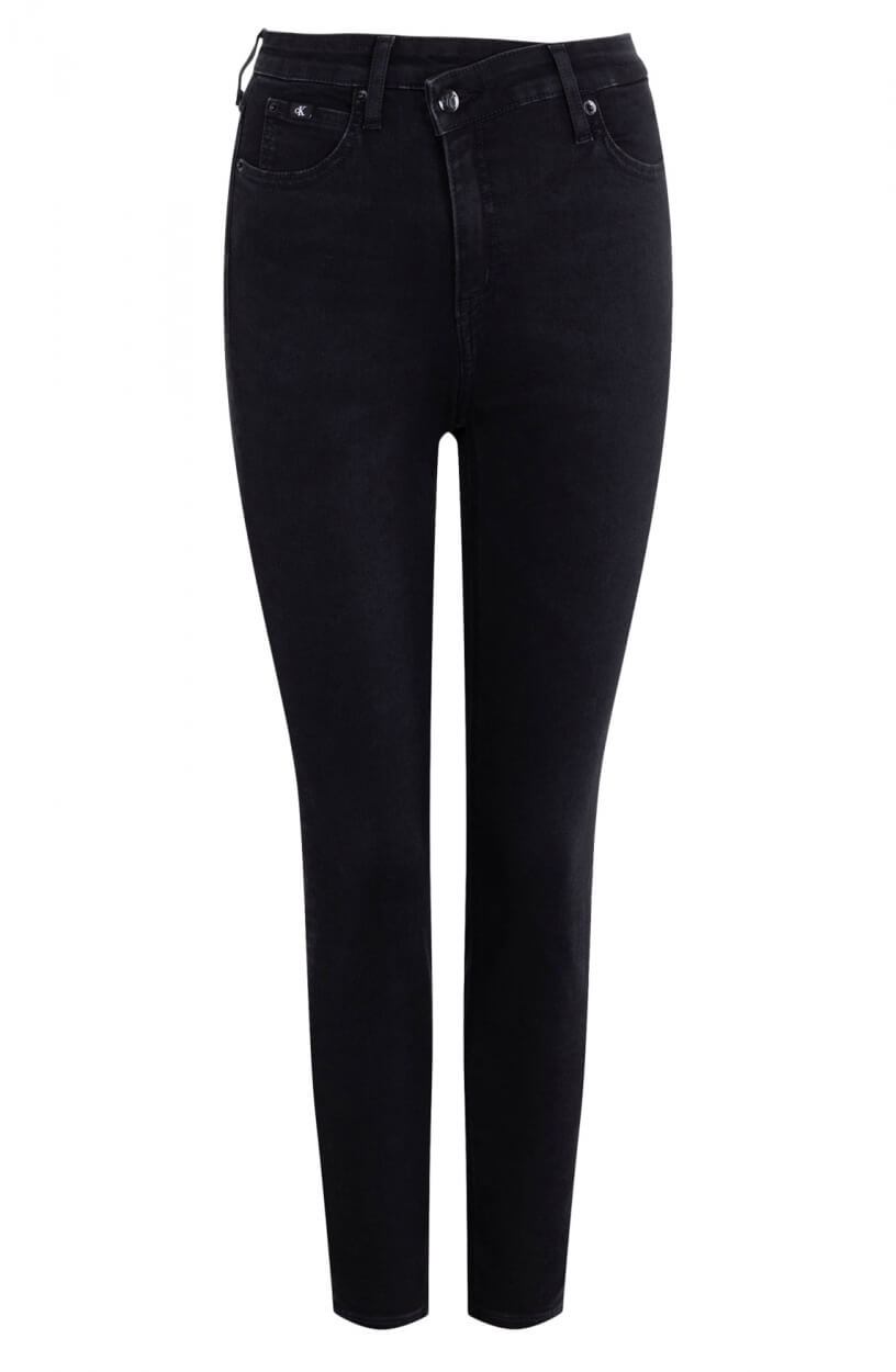 Calvin Klein Dames Ankle skinny jeans Zwart