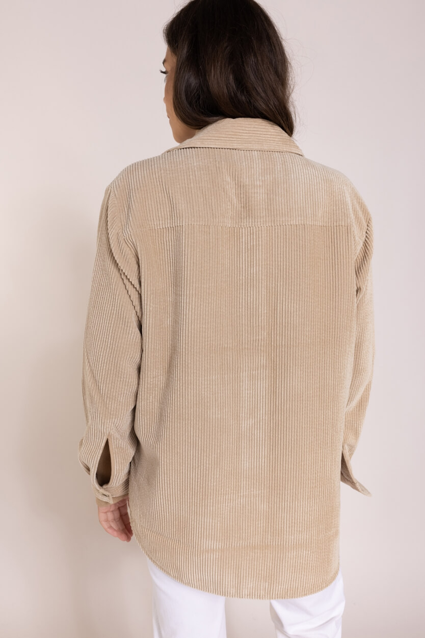 Second Female Dames Boya overshirt Bruin
