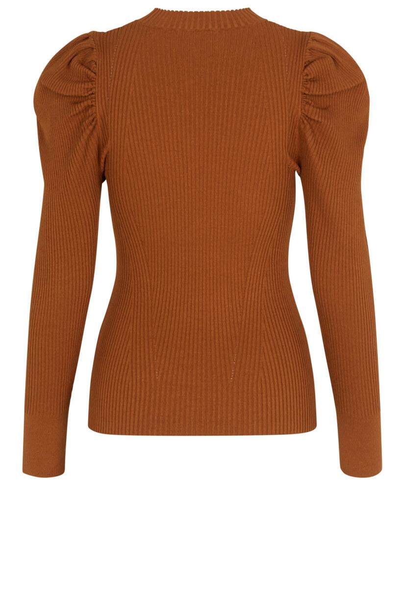 Second Female Dames Canillu pullover Oranje
