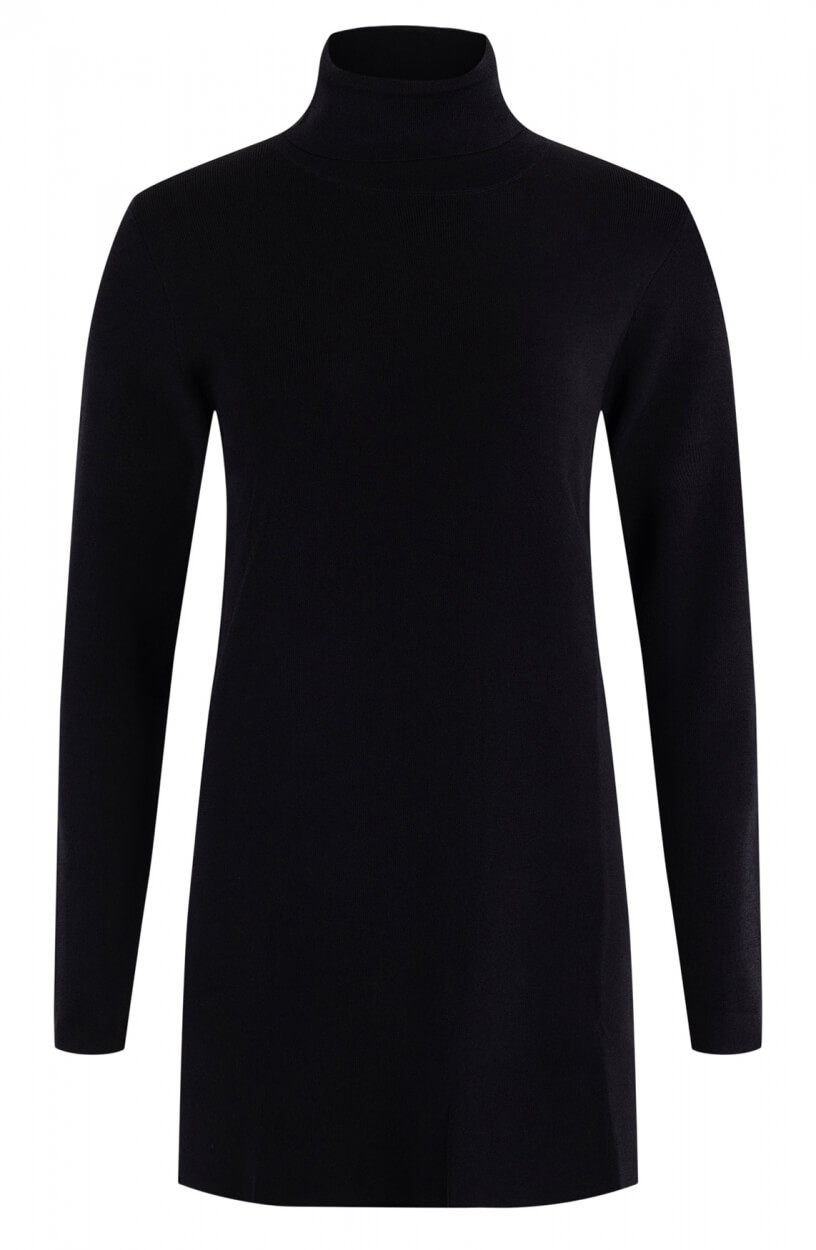Emotions Dames Col pullover Zwart