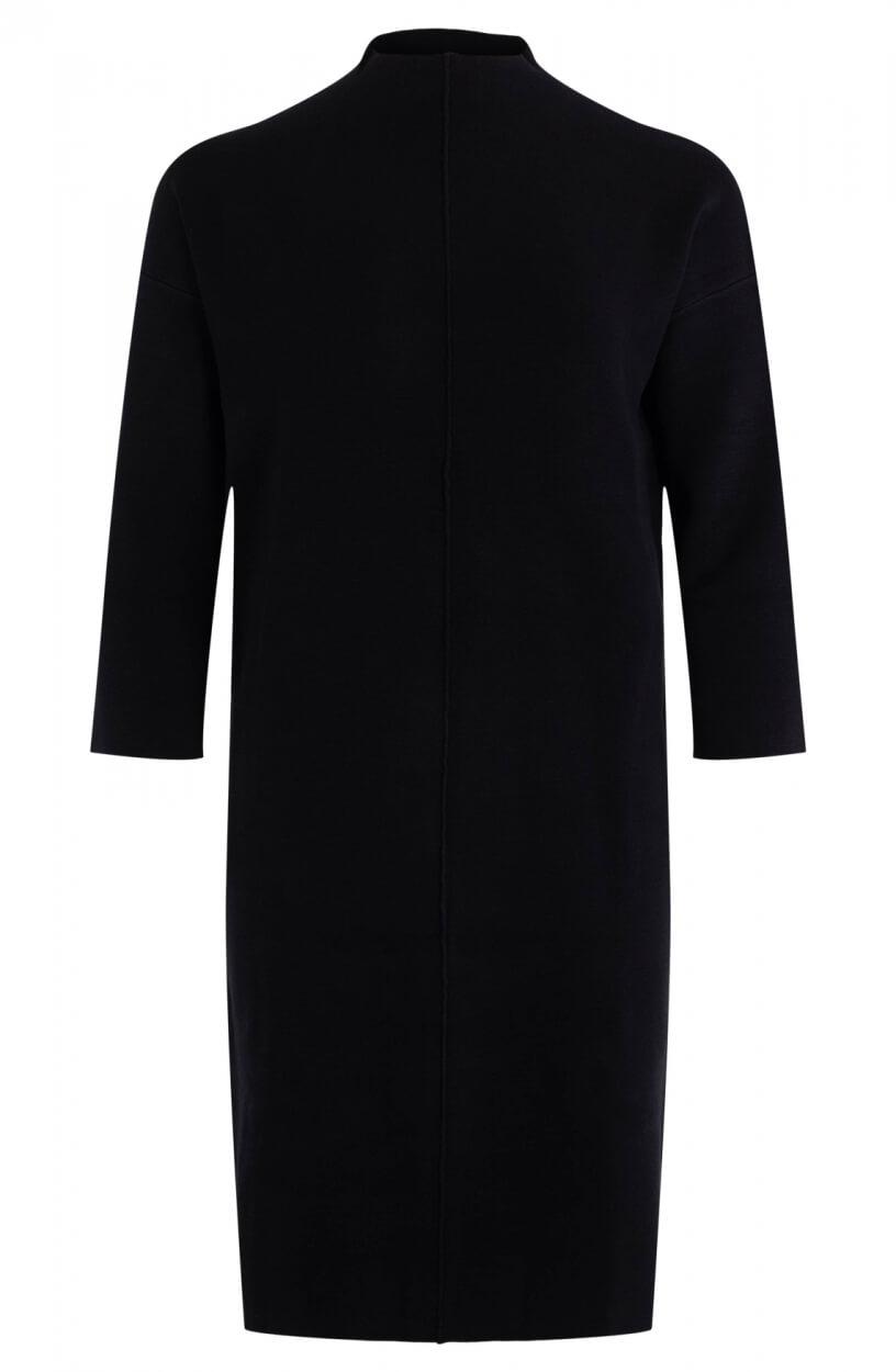 Emotions Dames Gebreide jurk Zwart
