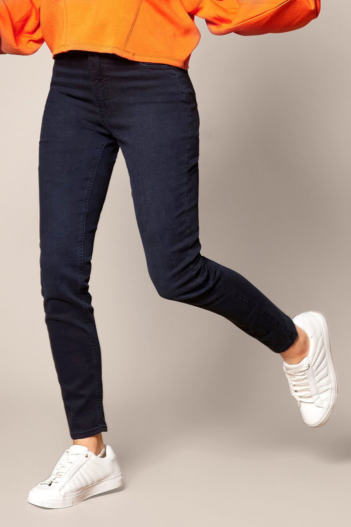 Rosner Dames L32 Audrey bodyshaping jeans Blauw