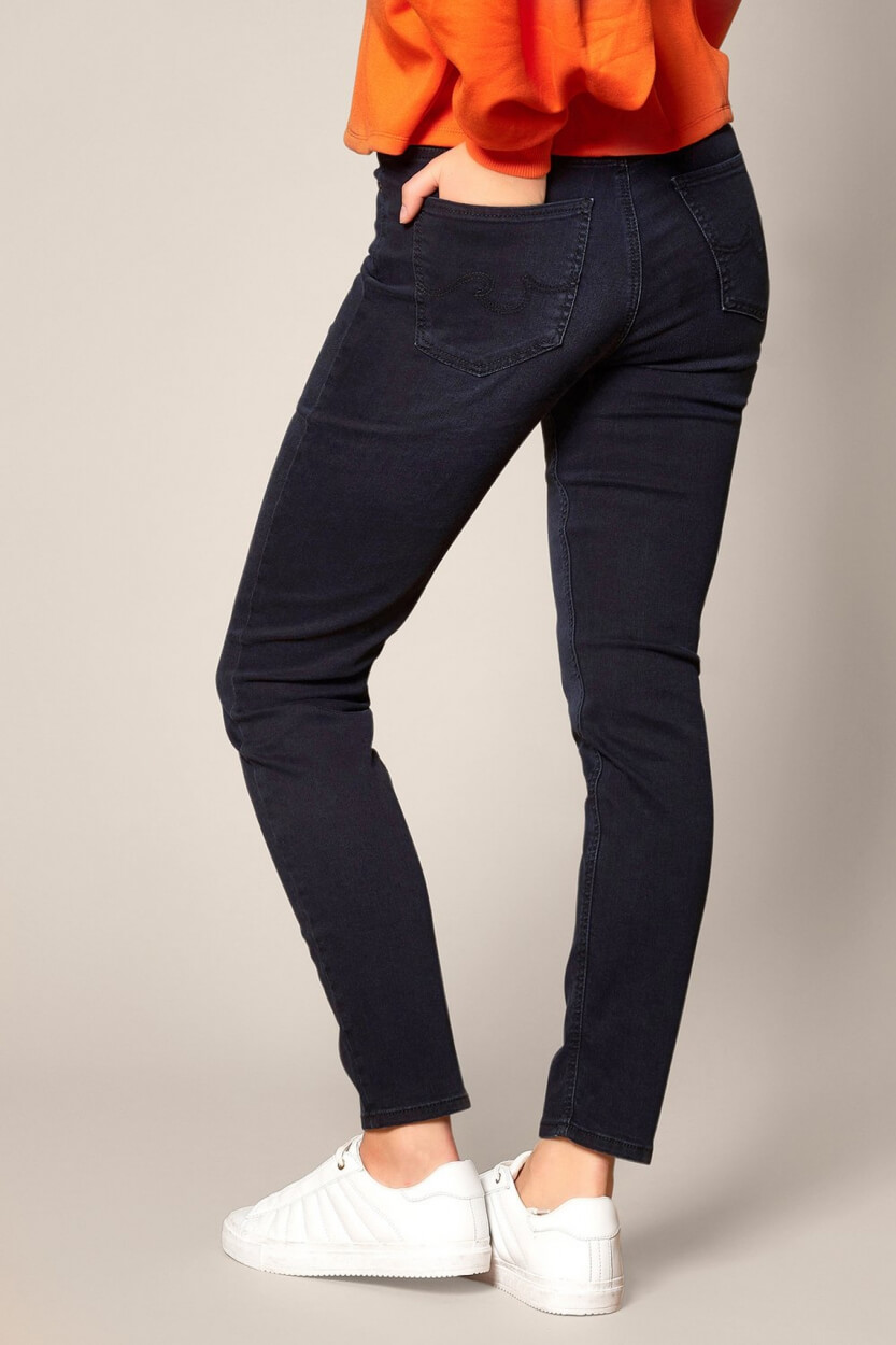 Rosner Dames L34 Audrey bodyshaping jeans Blauw