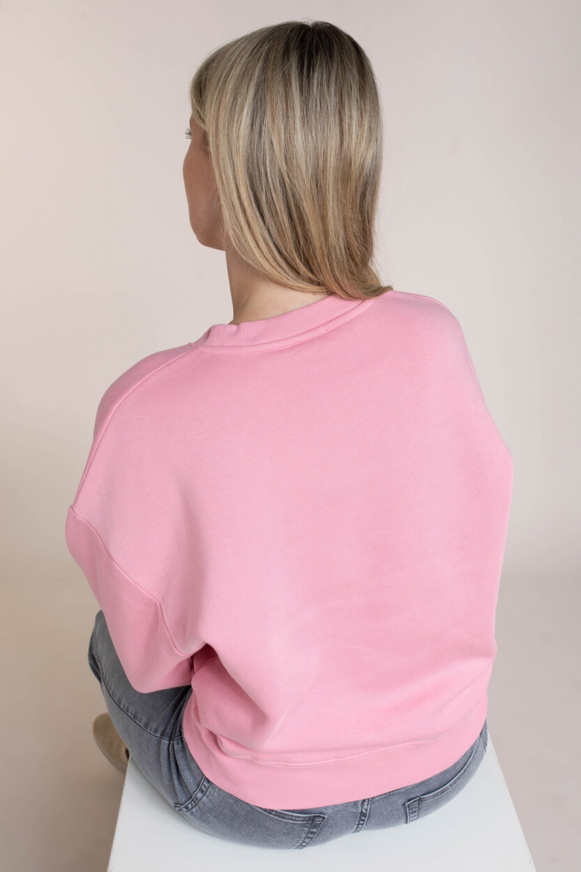 Closed Dames Sweater Close Together Roze