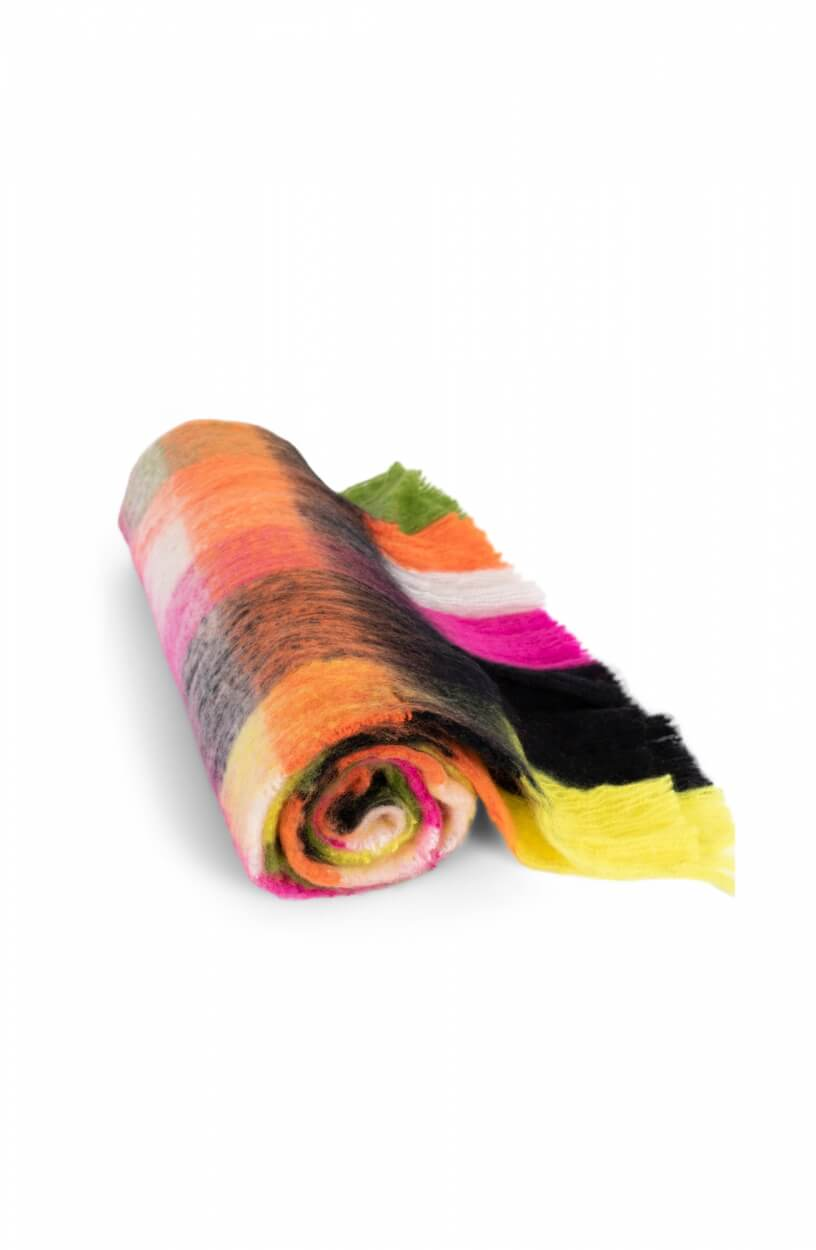 Anna Blue Dames Neon sjaal Roze