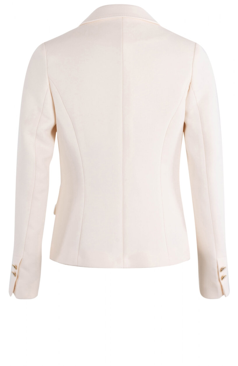 Anna Dames Double breasted blazer Wit