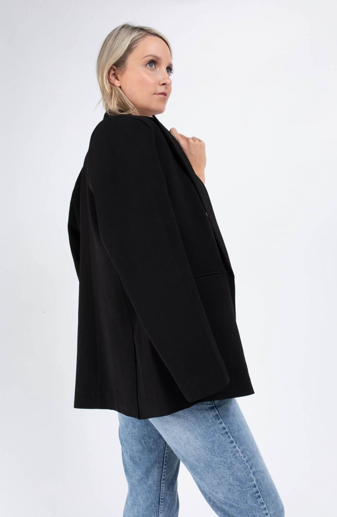 Co Couture Dames Andrea blazer Zwart