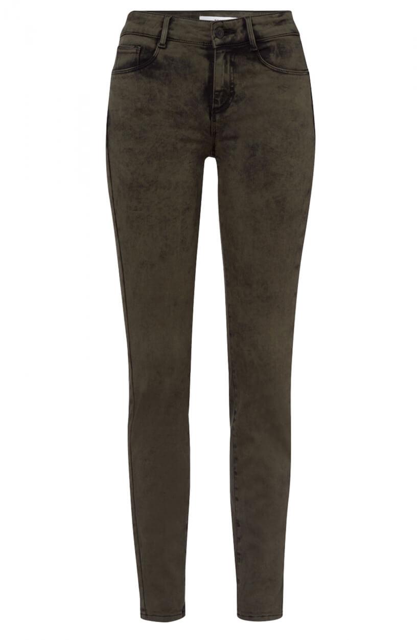 Brax Finest Dames Ana jeans Groen